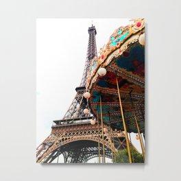 Jolie Paris Metal Print