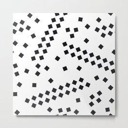 square elements Metal Print