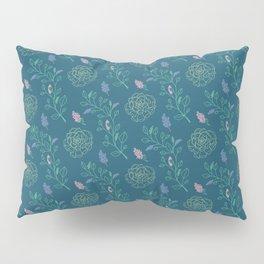 Floral Succulent Pillow Sham