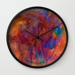 Bazzim by Jen-François Dupuis Wall Clock