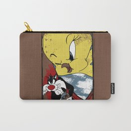 Beware The Songbird Carry-All Pouch