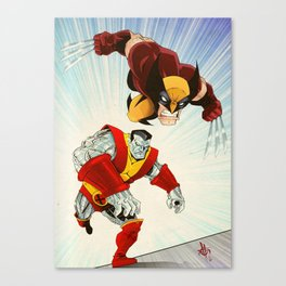 Fastball Special Canvas Print
