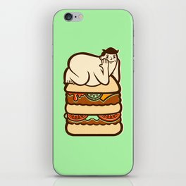 Love The Bun You're With  iPhone Skin