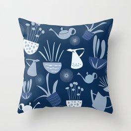 Wintergarden Pattern Throw Pillow