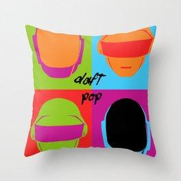 Daft Pop Throw Pillow