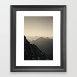 Mountain Side Color Photography Germany Europe Nature Framed Art Print