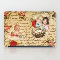 shabby chic iPad Cases featuring Shabby Chic by Diego Tirigall
