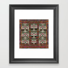 wings of love in peace and freedom Framed Art Print