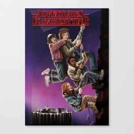 Adventures in Babysitting Canvas Print