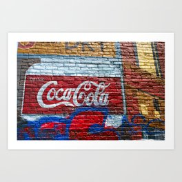 Drink Coke Art Print