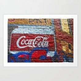 Drink Coke Art Print