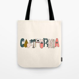 CALIFORNIA Tote Bag