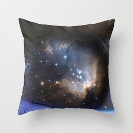 Ojo Estelar Throw Pillow