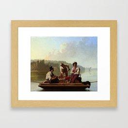 George Caleb Bingham , Boatmen on the Missouri Framed Art Print