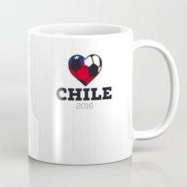 Chile Soccer Shirt 2016 Coffee Mug