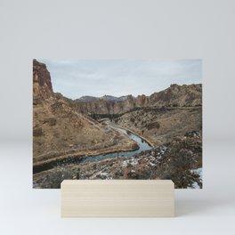 Smith Rock Desert - Wanderlust Nature Photography Mini Art Print