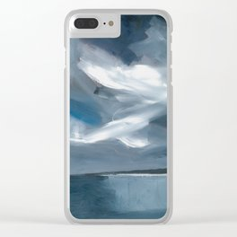 Lake Taupo, New Zealand Clear iPhone Case