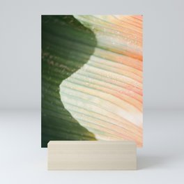 The green wave   colorful botanical photography in the gardens of Dublin Ireland Mini Art Print