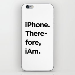 iAM iPhone Skin