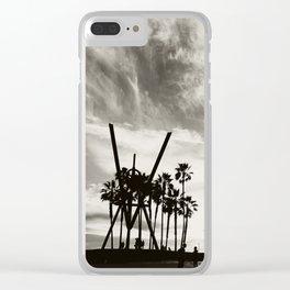 Venice B&W Clear iPhone Case