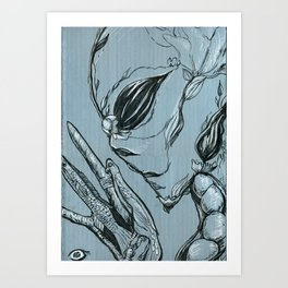 Shades of Grays: II Art Print