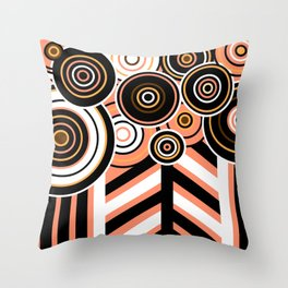 Complicated Forest Throw Pillow
