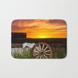 Wyoming Sunset Bath Mat