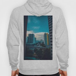 Downtown City Scene (Color) Hoody