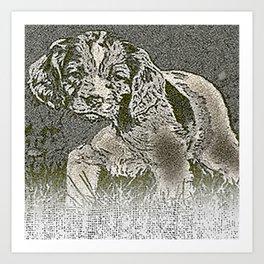 pillow Art Print