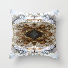 Holy Realms (l) Throw Pillow