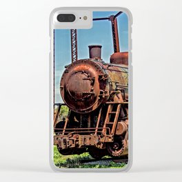 Rusted Glory Clear iPhone Case