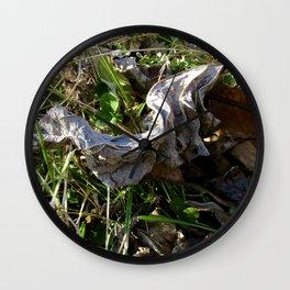 Nature Litter Wall Clock