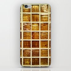Thee Gold Tiles iPhone & iPod Skin