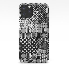 Halftone Collage iPhone Case