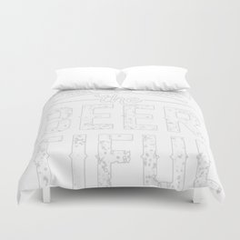 AMERICA THE BEER-TIFUL T-SHIRT Duvet Cover