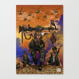 War Machine - The Nam Dude Canvas Print