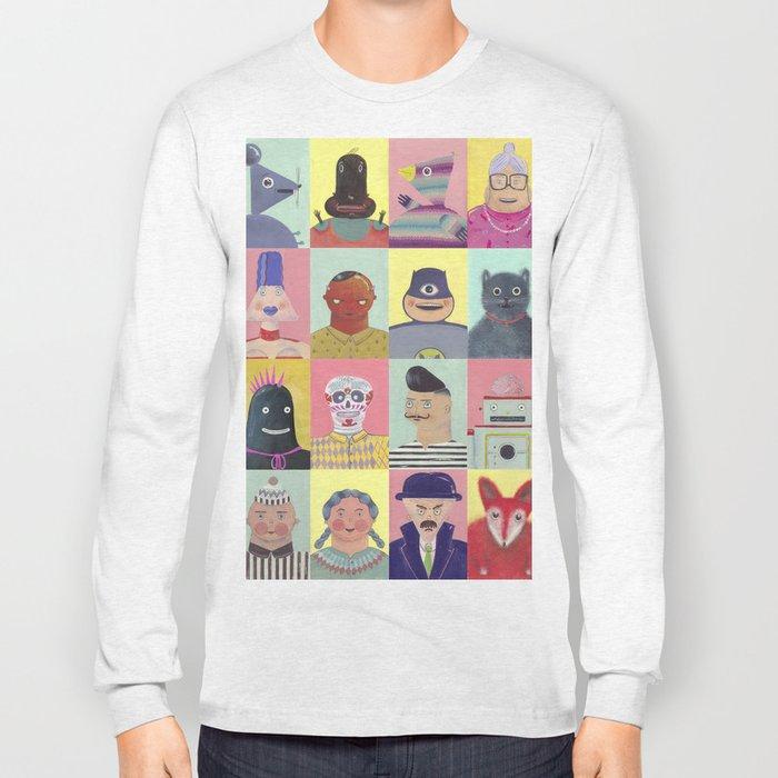 bobbies friends Long Sleeve T-shirt