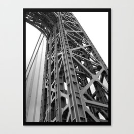 driving under the washington bridge Canvas Print