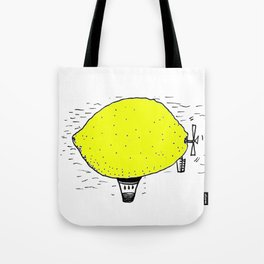 Lemon zeppelin Tote Bag