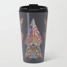 Cheetah Totem Travel Mug