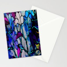 Painted Glass Stationery Cards
