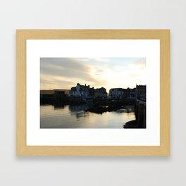 Millport at dusk Framed Art Print