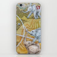 football iPhone & iPod Skins featuring Football by Ruta13