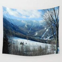 Ski Trails at Sugarbush Resort, Vermont Wall Tapestry