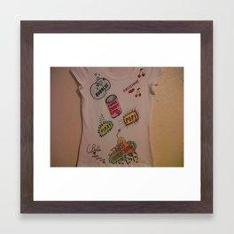 Super Sweet Soda. Framed Art Print