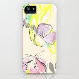 Femme Florale iPhone Case
