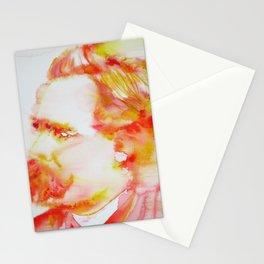 FRIEDRICH NIETZSCHE - watercolor portrait Stationery Cards