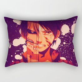 Atack on Titan - Eren Rectangular Pillow