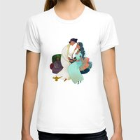 aladdin T-shirts featuring Aladdin Wedding by Kathryn Hudson Illustrations