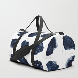 Zodiac Constellations Print Duffle Bag